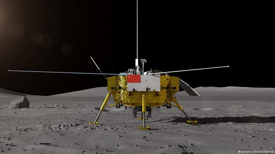 China consegue feito histórico ao pousar sonda na lua