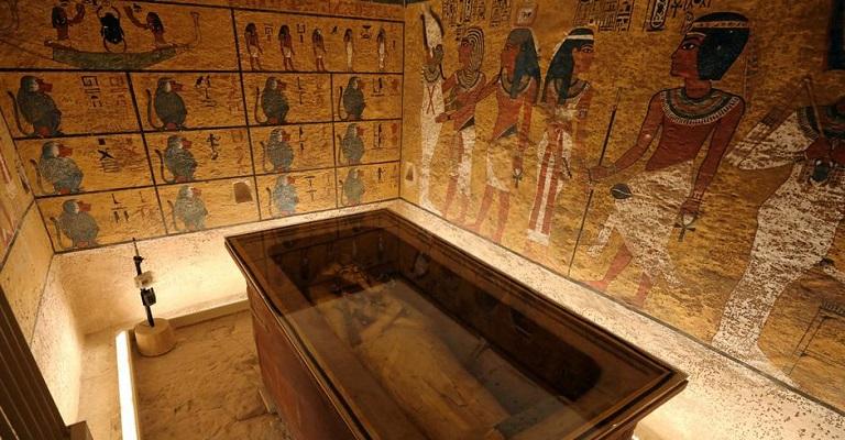 Tumba de Tutancâmon é reaberta após reparos