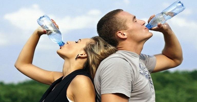 Mantenha o corpo sempre hidratado