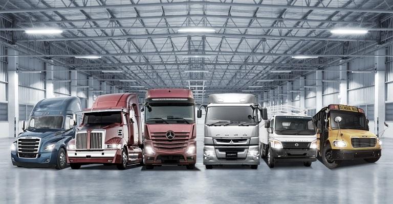 Daimler é a maior fabricante de caminhões do mundo