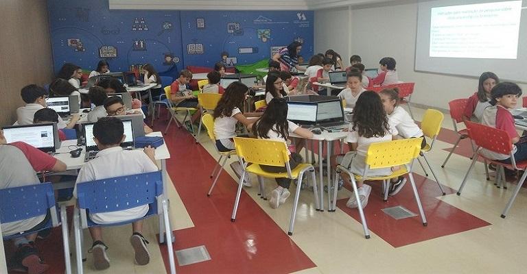 """Santo Agostinho é a primeira escola de Minas reconhecida como """"Showcase School"""""""