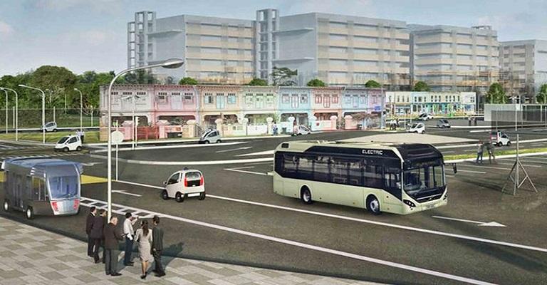 Volvo começa teste de ônibus urbano autônomo