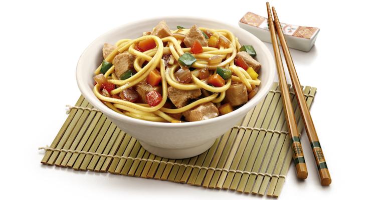 Que tal um delicioso Yakissoba de Frango no jantar?