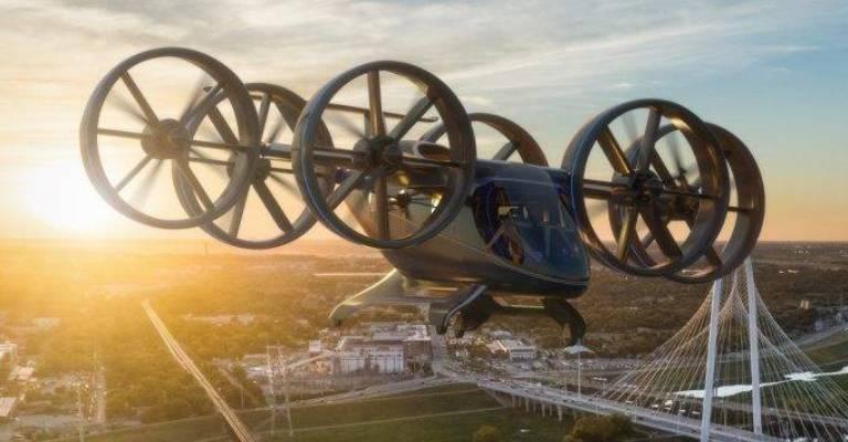 Protótipo de carro voador acomoda até cinco pessoas