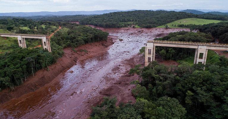 Rompimento de barragem da Vale destruiu 269,84 hectares