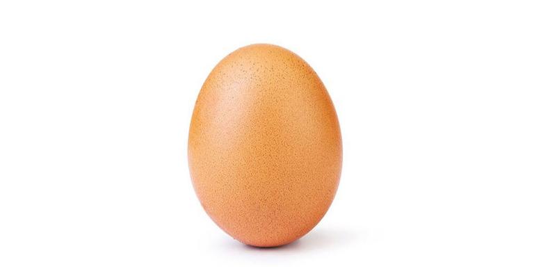 Foto de um ovo é a mais curtida da história do Instagram