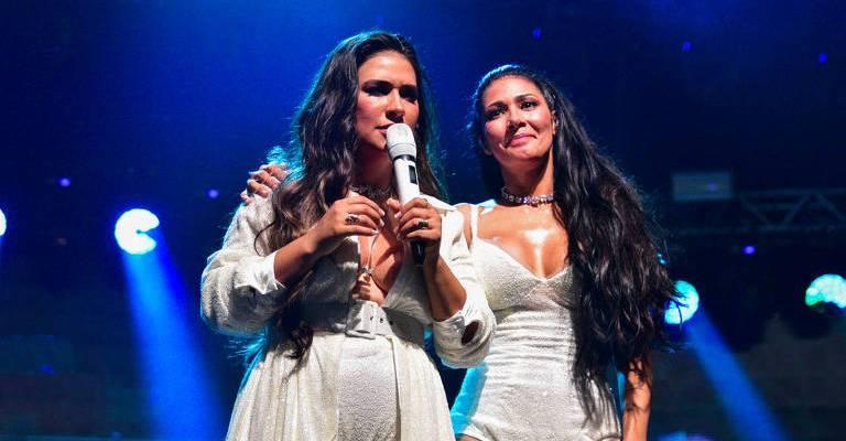 Simone e Simaria celebram a volta aos palcos