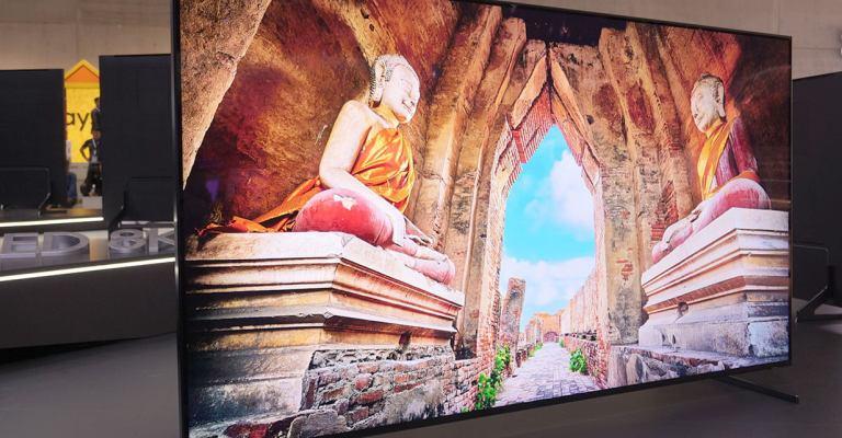 Televisores 8K devem chegar no Brasil em abril