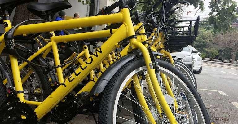 Yellow lança operação de bikes e patinetes em BH