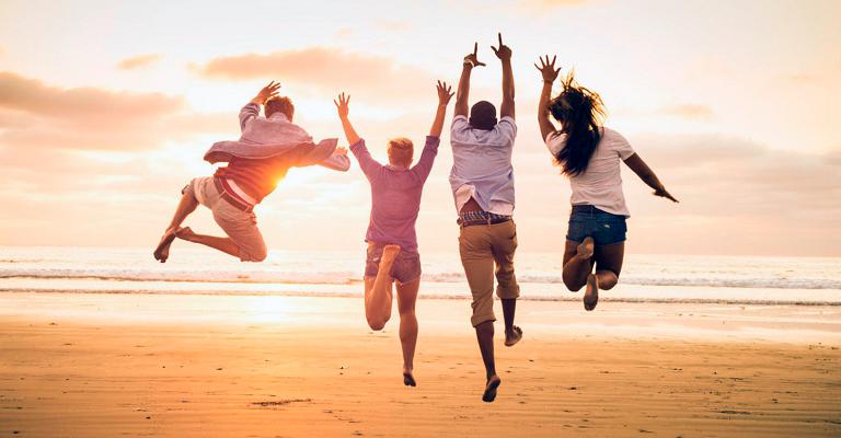 Dia da felicidade: Caminhe na direção da felicidade