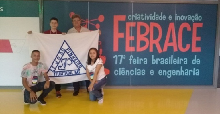 Estudantes mineiros participam da maior feira científica do Brasil