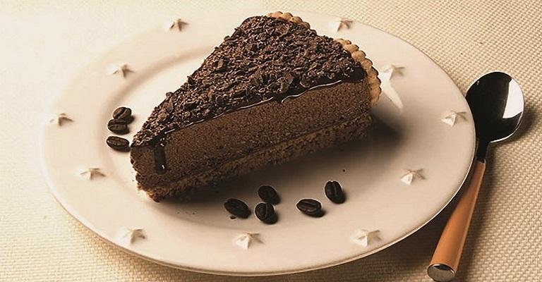 Uma incrível receita de torta mousse de café