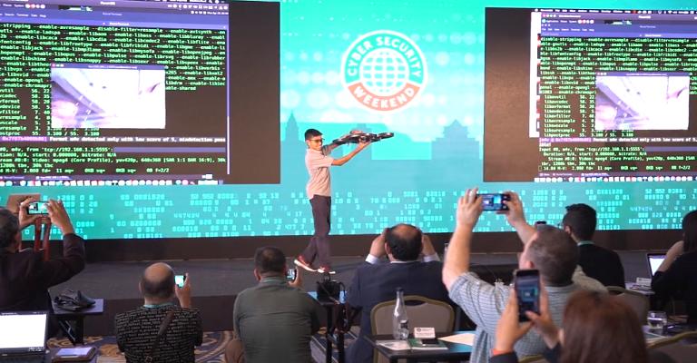 Adolescente hackeia drone para demonstrar a insegurança nos dispositivos conectados