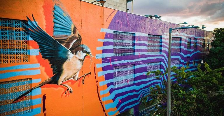 Inaugurado mural gigante em Belo Horizonte