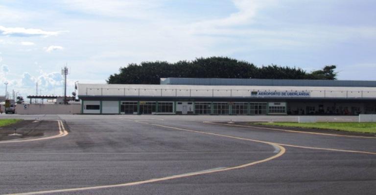 Infraero conclui obras na pista do Aeroporto de Uberlândia