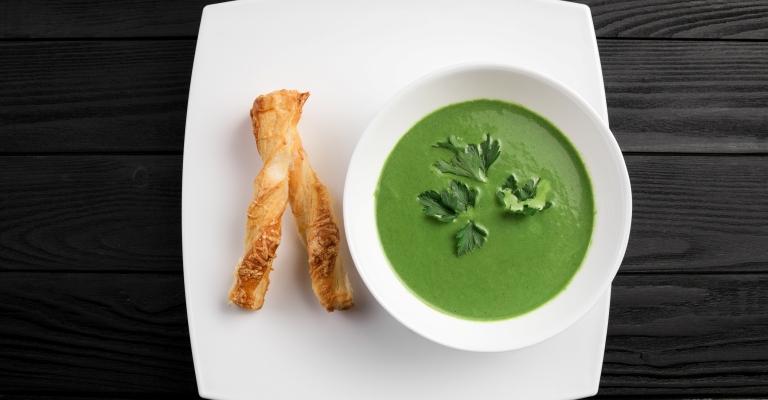 Sopa vegana para o primeiro final de semana frio do ano