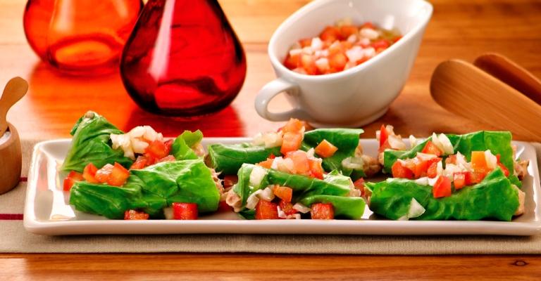 Salada é uma boa dica para os finais de semanas