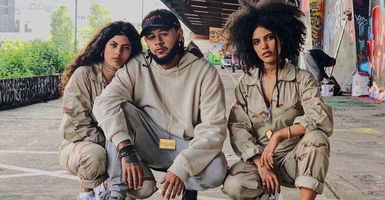 Emicida e Ibeyi gravam faixa que será apresentada no Rock in Rio