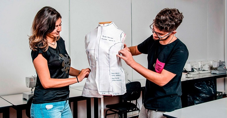 SENAI oferta pós-graduação de Design de Moda à distância