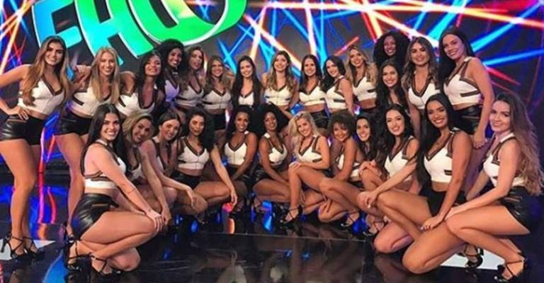Programa Domingão do Faustão demite 11 bailarinas