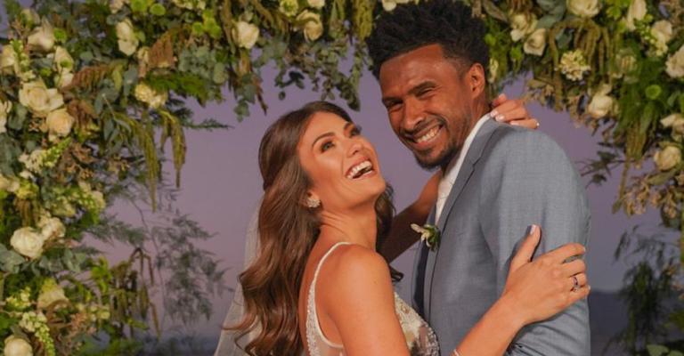 Casamento de Leandrinho e Talita Rocca reúne astros do esporte e celebridades