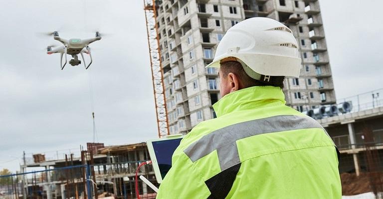 Como o uso de drones vem transformando a construção civil