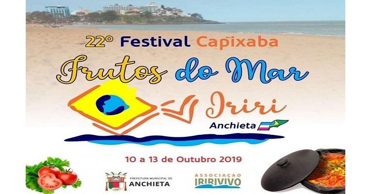Balneário de Iriri recebe Festival de Frutos do Mar