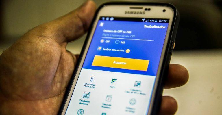 Aplicativo do FGTS lidera ranking em loja virtual