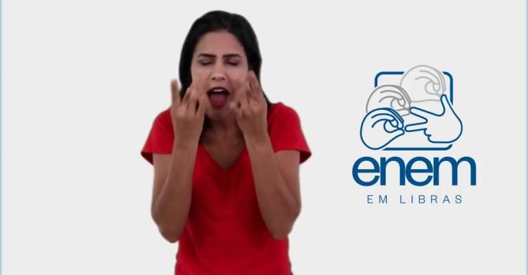 Inep lançará série de conteúdos do Enem em Libras