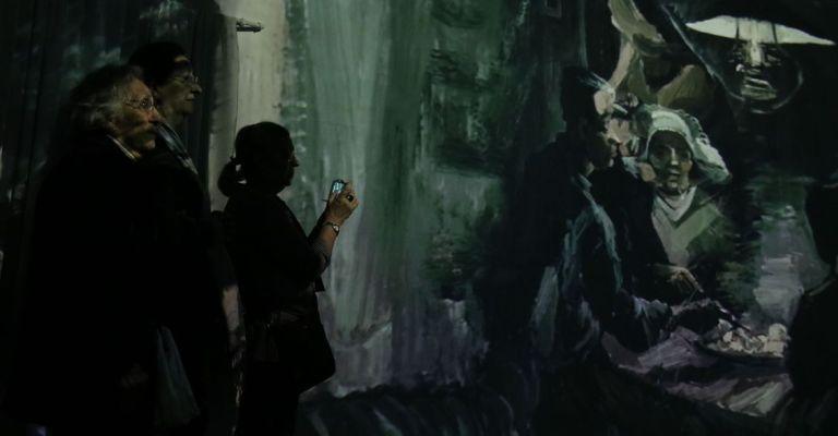 Exposição 'Paisagens de Van Gogh' leva visitante ao universo do artista