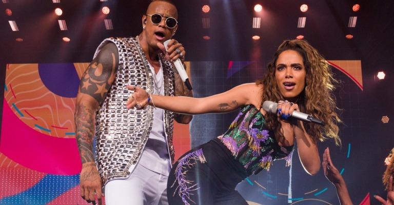 Léo Santana e Anitta lançam hit em parceria