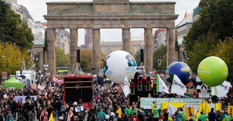 Manifestações em prol do meio ambiente ocorrem em 150 países