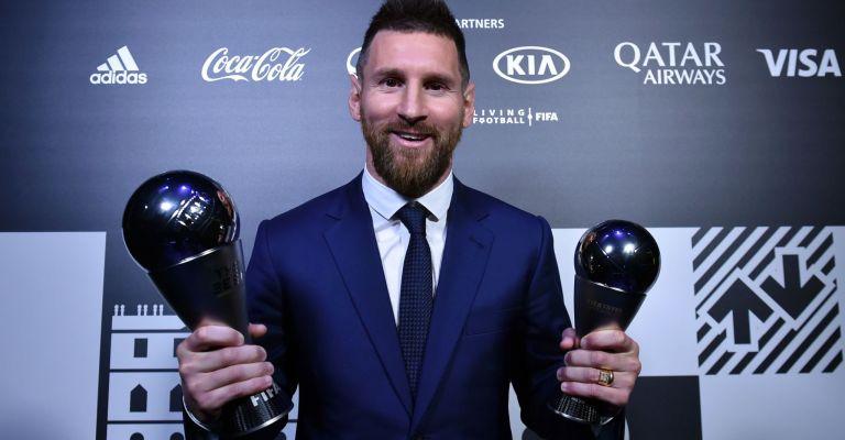 Messi é o melhor do mundo pela 6ª vez