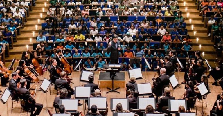 Filarmônica oferece concertos didáticos gratuitos em Minas