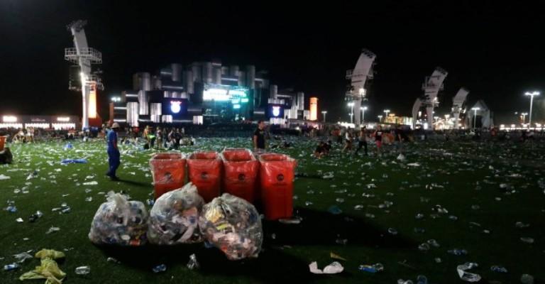 Rock in Rio terá reciclagem de 2,5 milhões de copos plásticos