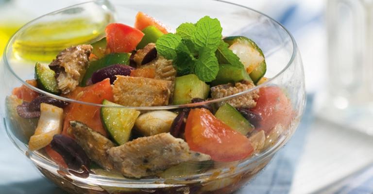 Dica de salada refrescante