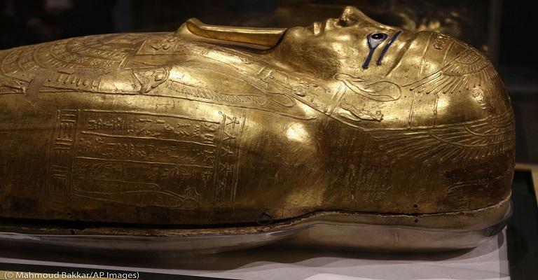 EUA devolvem ao Egito sarcófago roubado