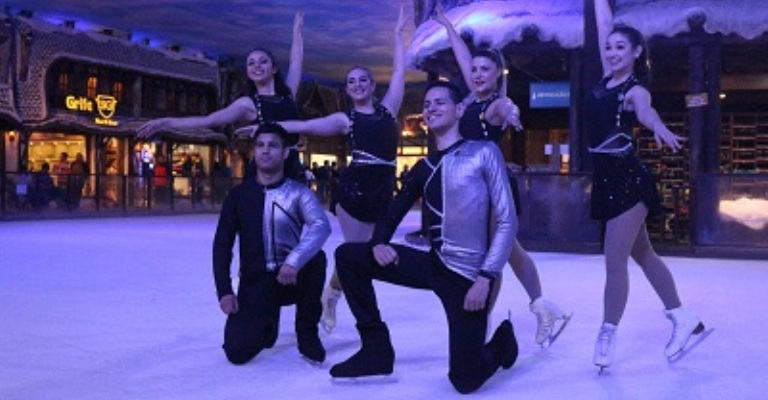 Gramado vira polo da patinação artística no gelo