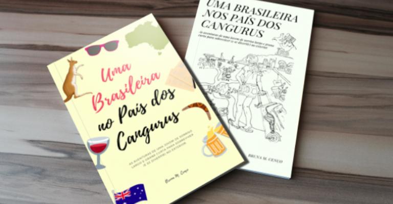 Brasileira transforma aventuras na Austrália em livro guia
