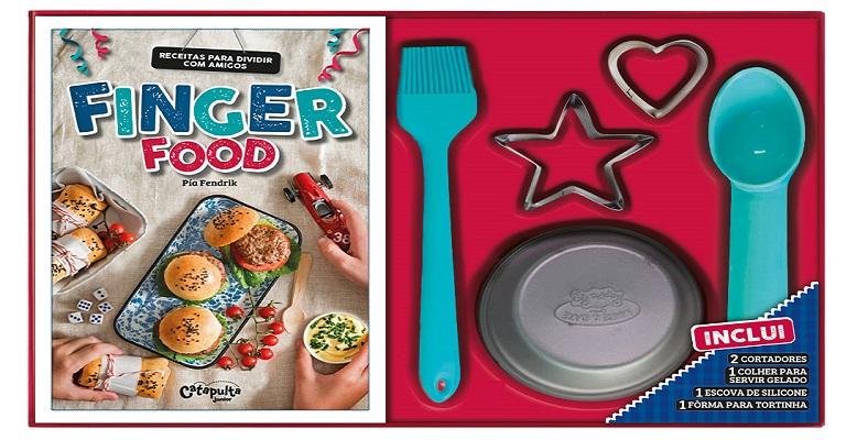 """Livro """"Finger food"""" ensina receitas práticas as crianças"""