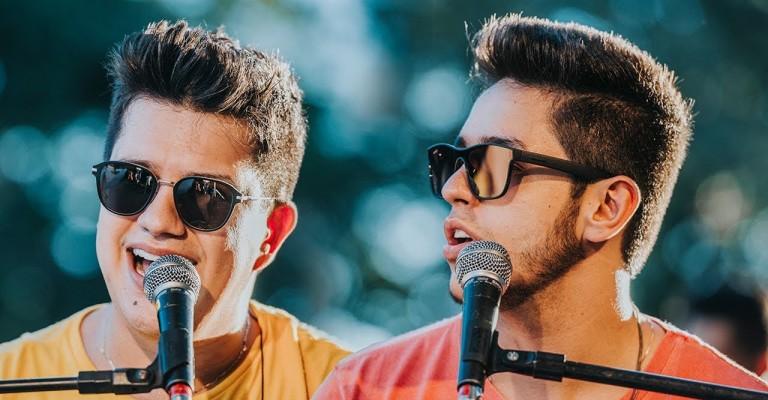 Música de Hugo & Guilherme lidera ranking das mais tocadas do Brasil