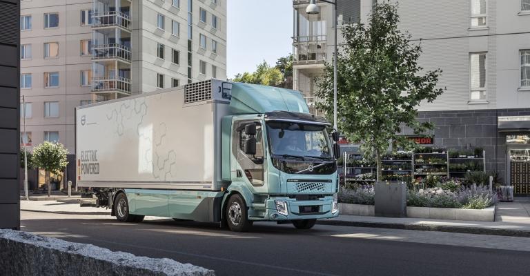 Volvo inicia vendas de caminhões elétricos para transporte urbano na Europa