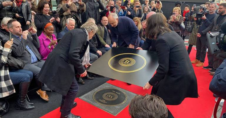 Calçada da Fama da Música de Londres homenageia The Who