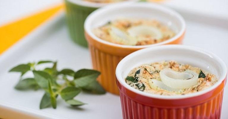 Prepare um suflê vegetariano irresistível