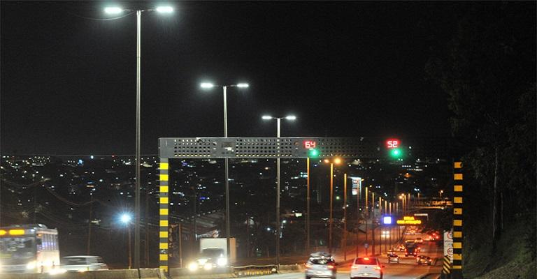 Anel Rodoviário recebe nova iluminação