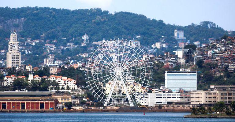 Rio inaugura maior roda-gigante da América Latina