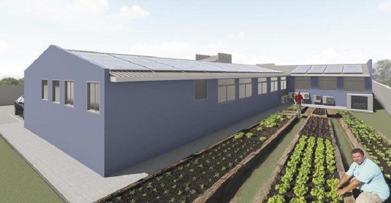 Primeiro posto de saúde sustentável do país começa a ser construído