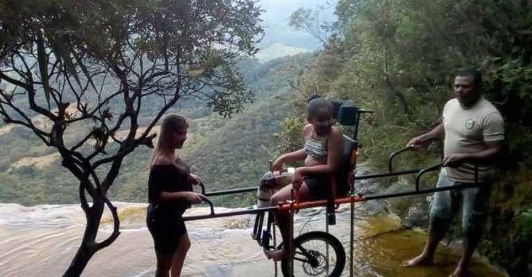 Parque do Ibitipoca oferece novidade para pessoas com mobilidade reduzida