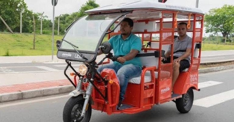 Uber começa a oferecer serviço de tuk-tuk no Brasil