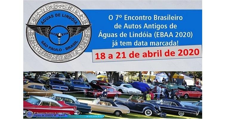 7º Encontro Brasileiro de Autos Antigos acontece em abril